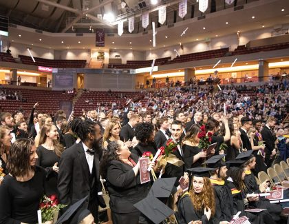 More Than 150 Earn Degrees at CofC's Winter Commencement
