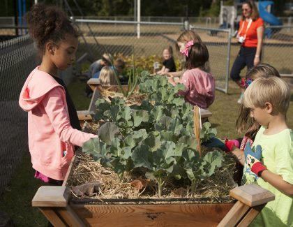 Boeing Funds CofC Farm-to-School Initiative for Sixth Year