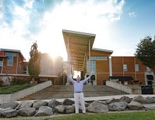 How Alum Vic Howie '83 Launched the U.S. Whitewater Center