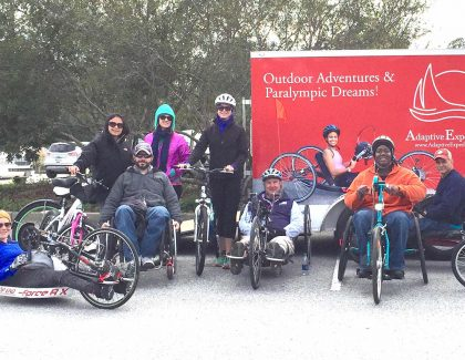 Alumnus Helps Physically and Sensory Challenged Stay Active