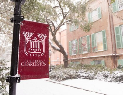 CofC Campus Closed for Winter Break