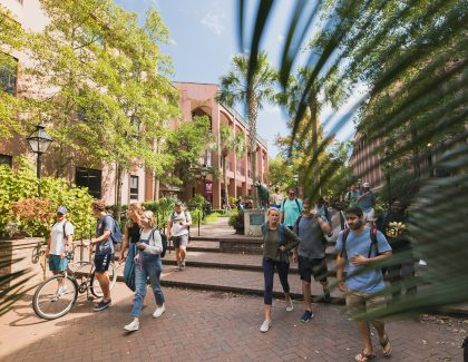 New Students Enliven CofC's Spring Semester