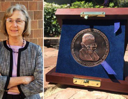 Charleston Museum Curator Awarded College's Simons Medal