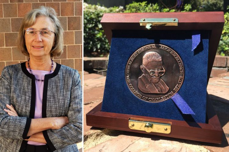 Charleston Museum Curator Awarded College's Simons Medal