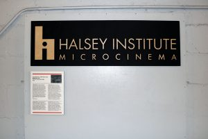 The Halsey Institute Microcinema began quietly playing films in 2012.