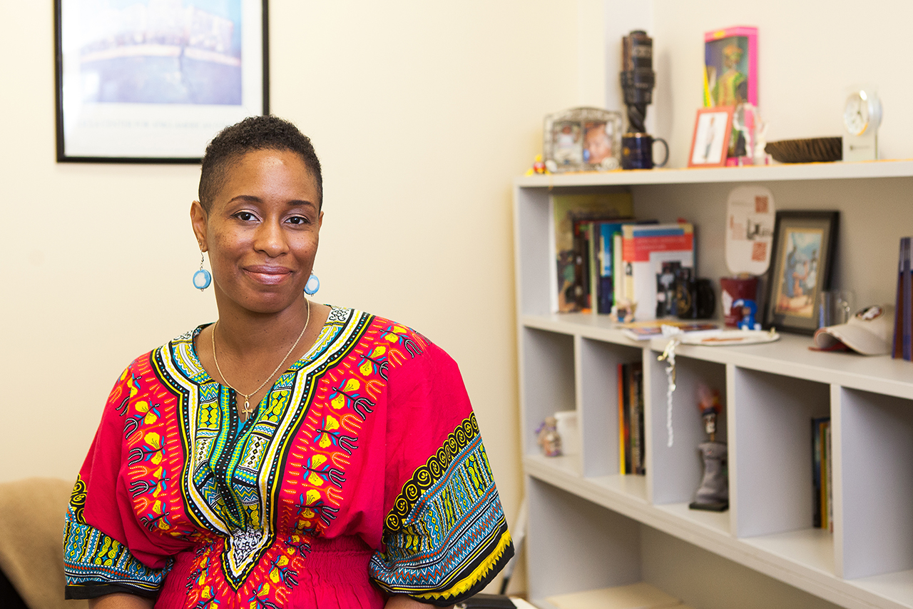 Kameelah L. Martin, director of African American Studies (Photo by Reese Moore)