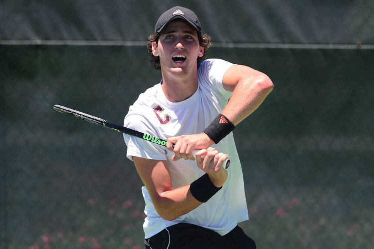 Men's Tennis Swings into Action with First Home Match of the Season