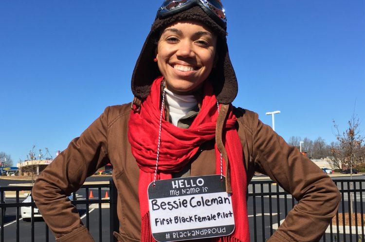 Alumna Brings History to Life