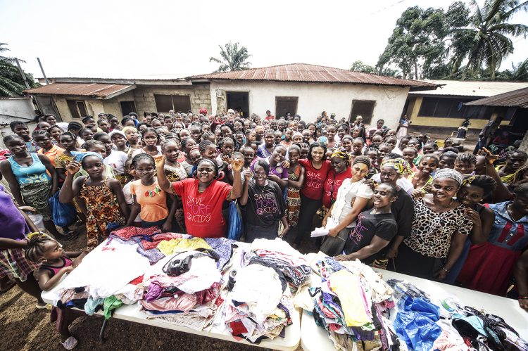 Campus Comes Together to Support Liberian Women