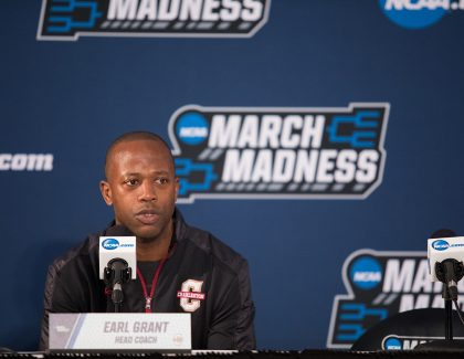 Men's Basketball Coach Earl Grant Agrees to Five-Year Extension