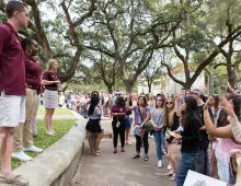 Accepted Student Weekend: A Chance to Sample Life at CofC