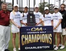 Women's Golf Wins Third CAA Championship