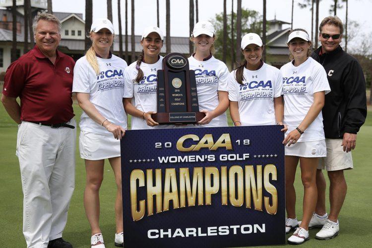 Women's Golf Wins Third CAA Championship