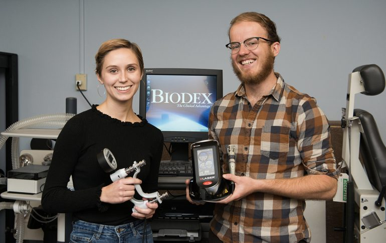 Professors, Students Laser Focused on Treating Muscle Fatigue