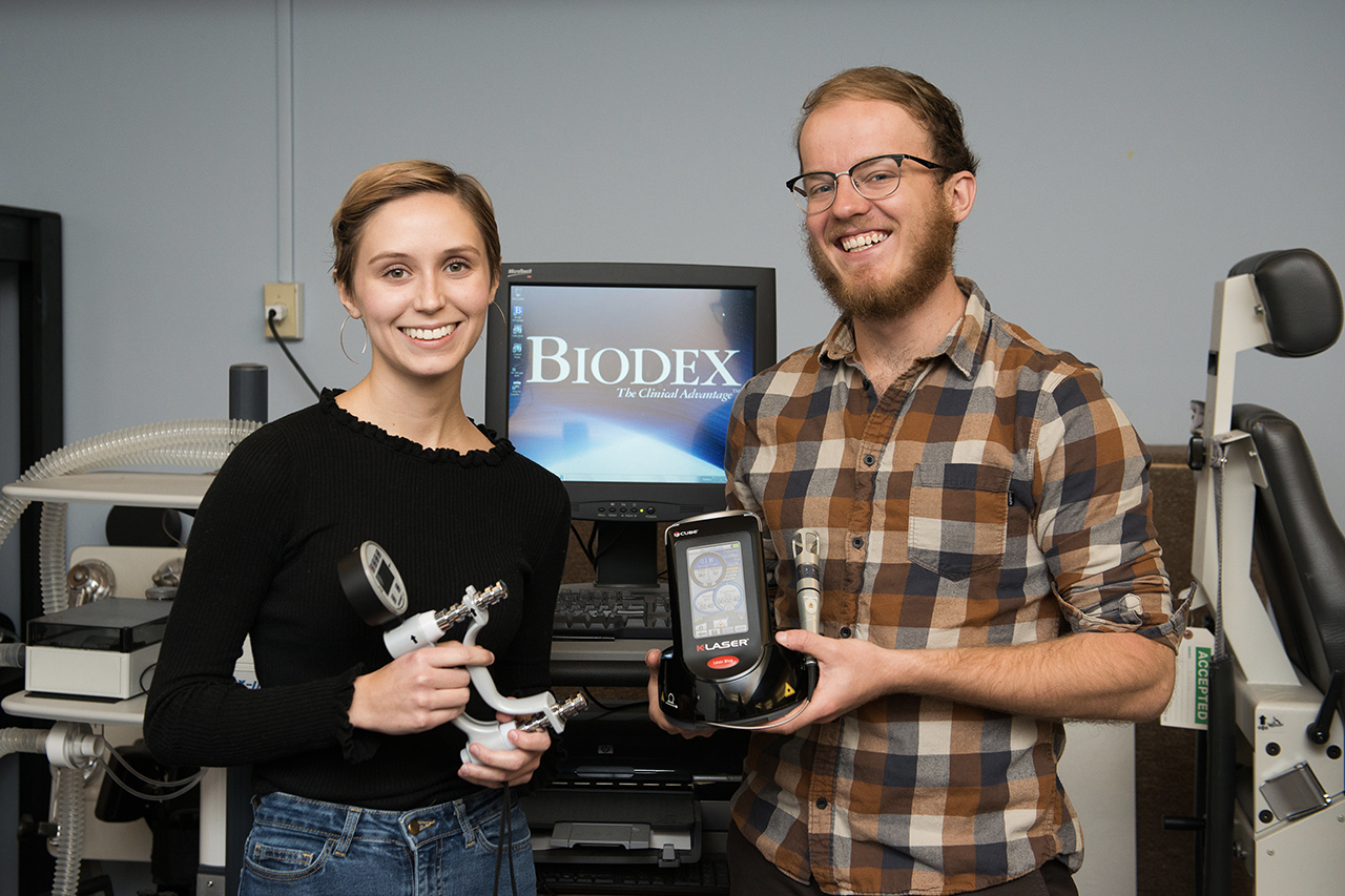 Professors Students Laser Focused On Treating Muscle Fatigue