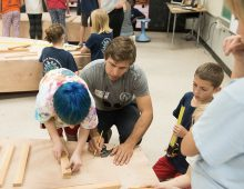 Alums Build Experiences for Kids with Lowcountry Maritime Society