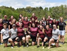 Women's Club Rugby Team Completes Another Stellar Season Under the Radar