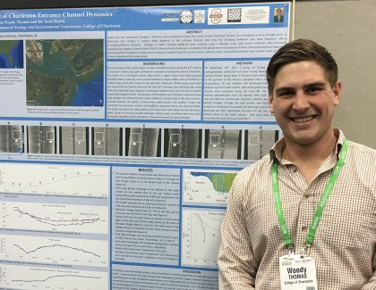 Geology Students Present Research at International Conference