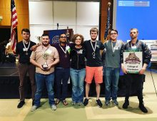Cybersecurity Club Takes Second Place in State-wide Competition