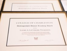 Celebration of Faculty Honors 6 Distinguished Professors