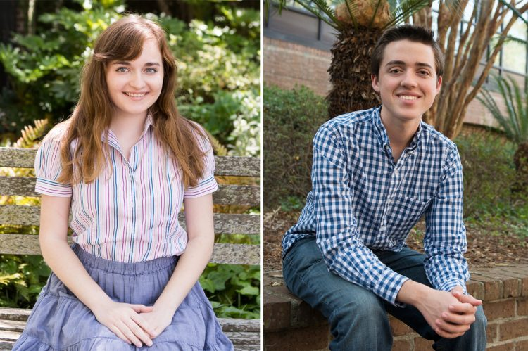 Two CofC Students Named Goldwater Scholars