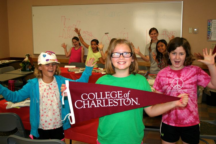 Keep Kids Busy with CofC Summer Camps