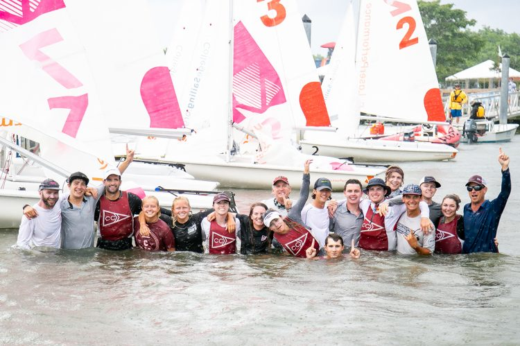 CofC Sailing Captures Team Race National Championship