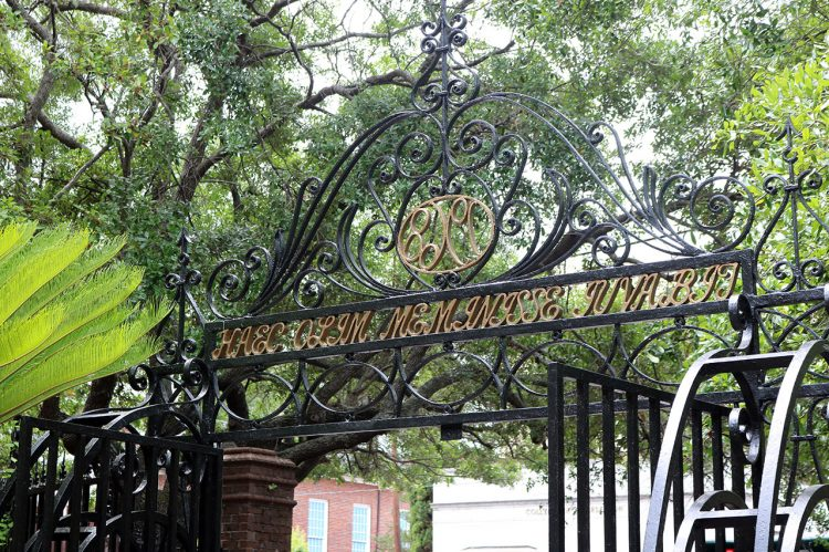 College's Latin Gate at Cougar Mall Turns 'L'