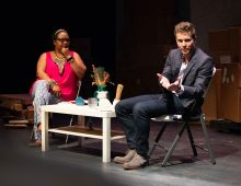 Actor Matt Czuchry Shares Insights With Theater Students