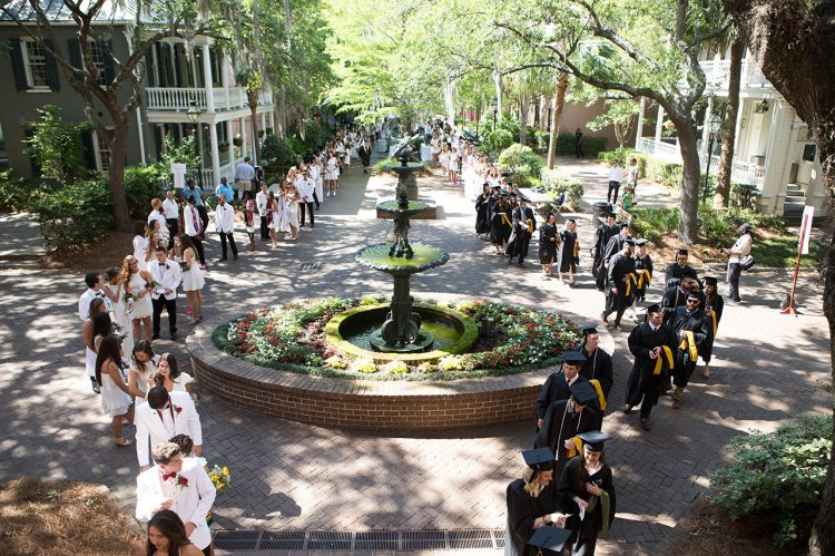 First Round of Spring Graduates Crosses the Cistern