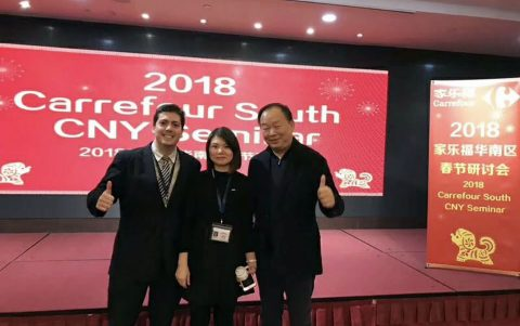 Alumnus is a Culinary 'Foreign Hero' in China
