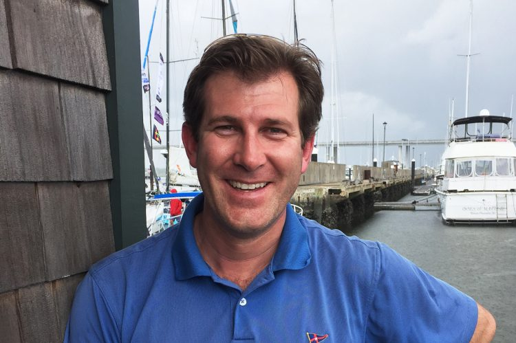 CofC Alum Tests His Mettle in Sailing's Atlantic Cup