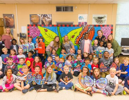 Graduate's Butterfly Project Takes Wing