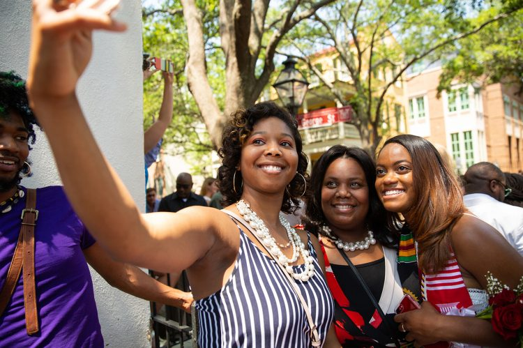 Our Favorite Social Media Moments from Spring Commencement