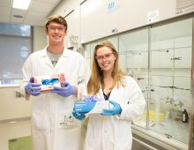 Science Students Launch Recycling Program for Rubber Gloves