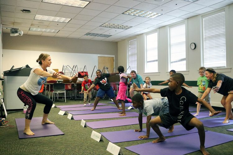 CofC, Kids on Point Launch Impact360 Summer Camp