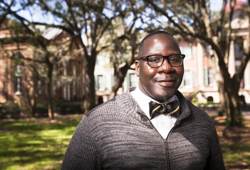 Admissions Counselor's Life Story Inspires Student Recruits