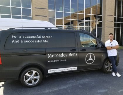 Internship Spotlight: Logistics Intern at Mercedes-Benz Vans