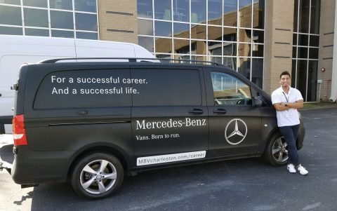 Internship Spotlight: Logistics Intern at Mercedes Benz Vans