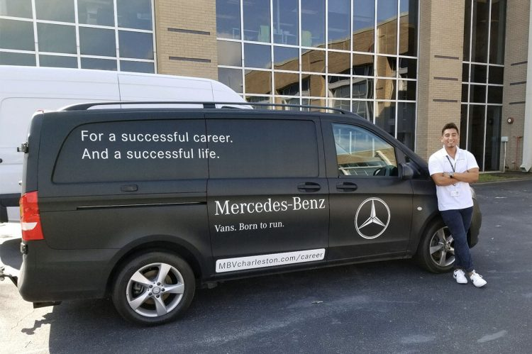 Internship Spotlight: Logistics Intern at Mercedes-Benz Vans