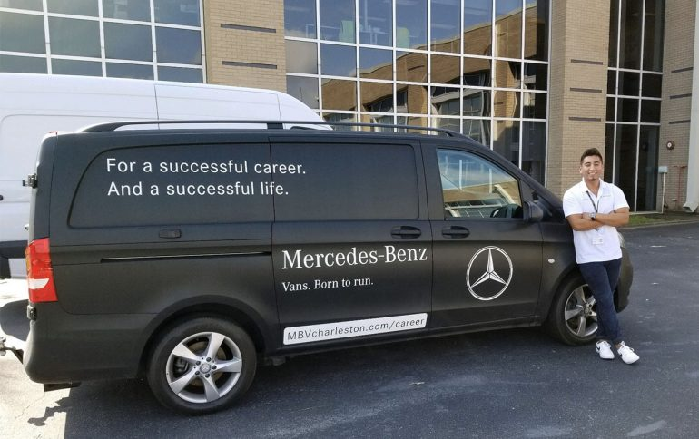 Internship Spotlight: Logistics Intern at Mercedes Benz Vans