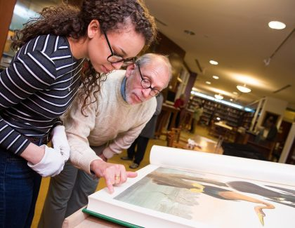 Copy of Audubon's 'Birds of America' Donated to Library