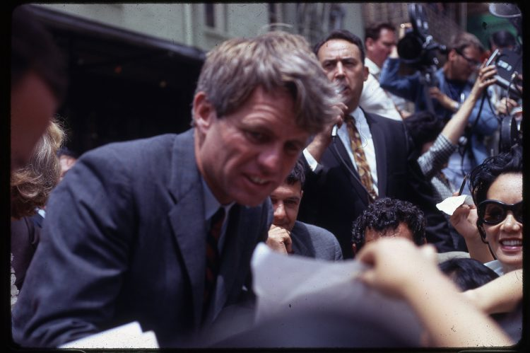 Library Acquires Images of Robert Kennedy's Final Hours