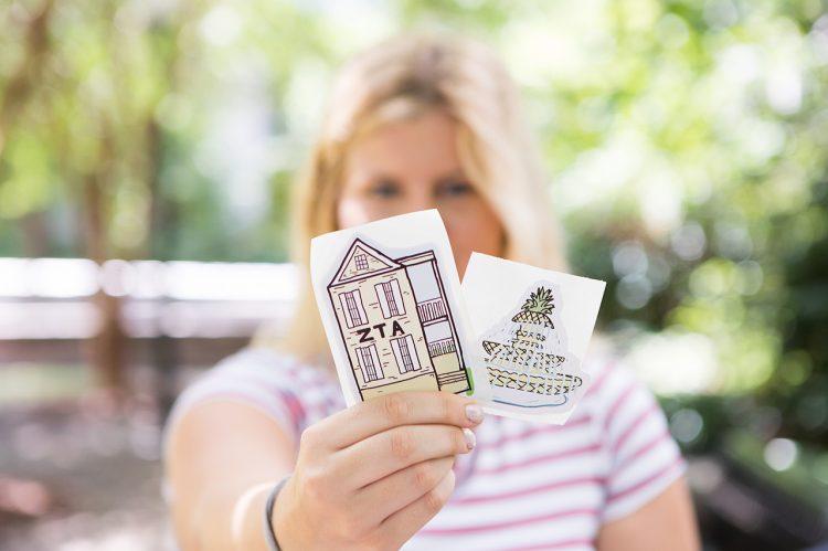 Marketing Major Draws Her Way Into Sticker Business