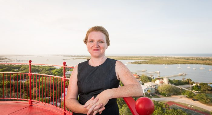 Alumna Lights Up the Past in St. Augustine