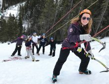 Students Experience Peak Learning in Adventure Tourism Class