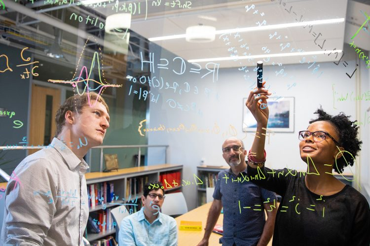 Math Students Keep Summer Abstract With Research