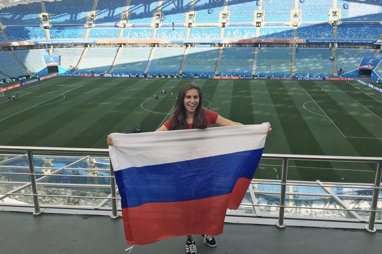 How CofC Helped One Alumna Get to The World Cup