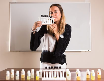 Psychology Student Has Nose for Odor Research