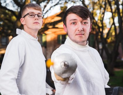 New Fencing Club Gets Right to the Point
